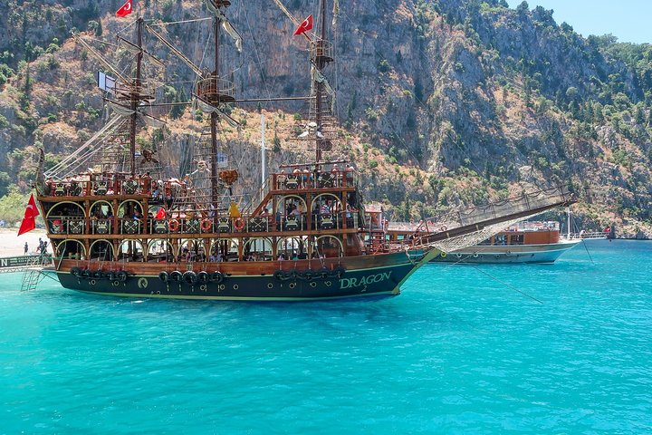 Pirate Boat Trip from Oludeniz, Fethiye, TURQUIA