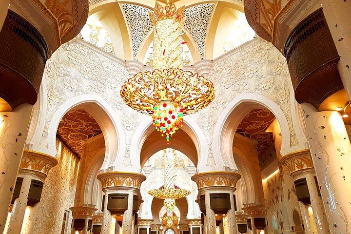 Lo mejor de Abu Dhabi con Museo del Louvre & Qasar Al Watan, Abu Dabi, EMIRATOS ARABES UNIDOS