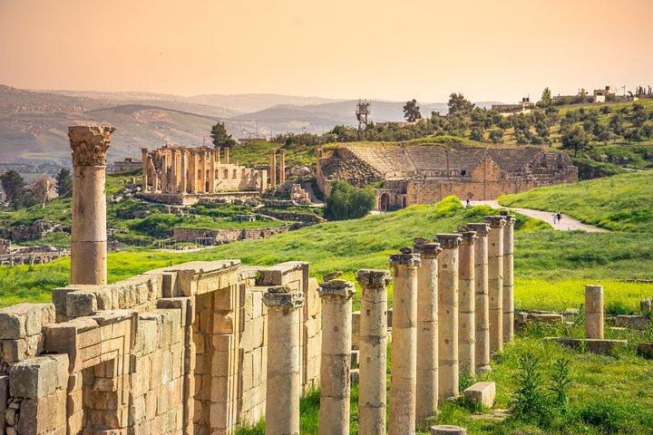 7-Night Best of Jordan Tour:Jerash, Dead Sea, Petra,Wadi Rum,and Aqaba Overnight, Aman, Jordânia