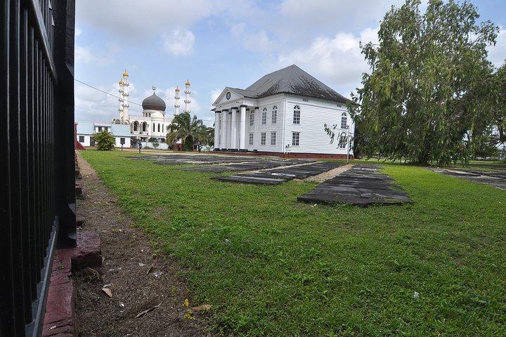 Passeio a pé no centro de Paramaribo, Paramaribo, Suriname