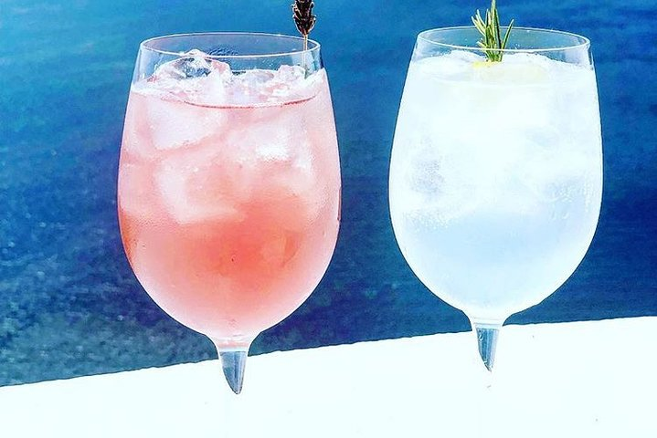 Greek Cocktails and Sunset, Miconos, GRECIA
