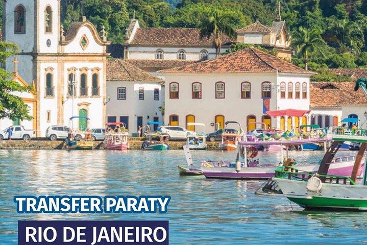 Transfer Paraty x Rio de Janeiro e Aeroportos, Paraty, BRASIL