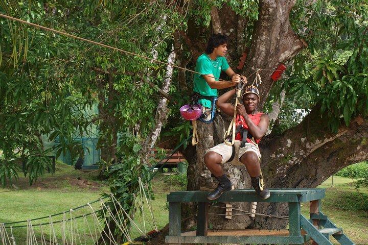 Ziplining and Kayaking Experience in Bergendal, Paramaribo, SURINAM