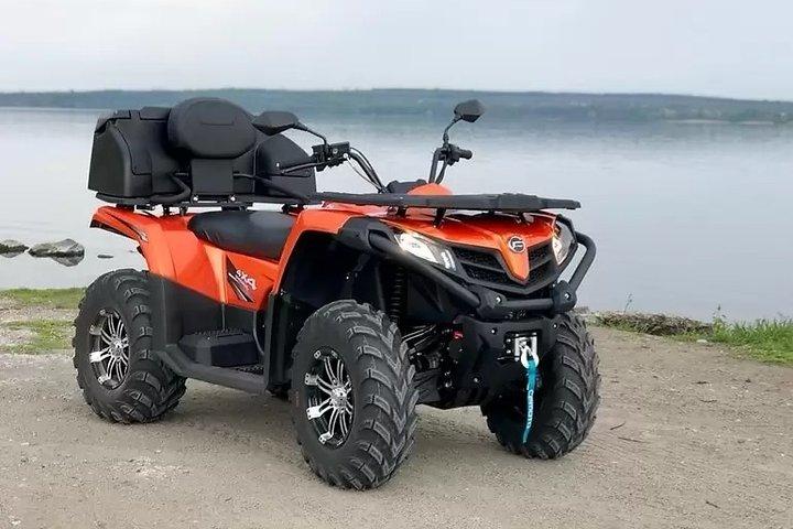 ATV Quad 450 cc person, Miconos, GRECIA