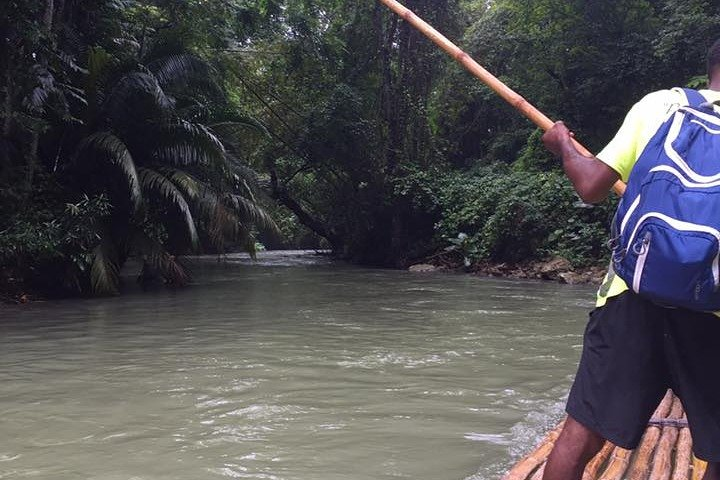 Half-Day Private Rafting Tour to Martha Brae from Falmouth, , JAMAICA