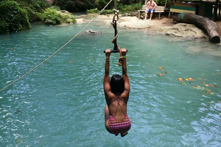 Blue Hole and Dunn's River Falls from Montego Bay, , JAMAICA