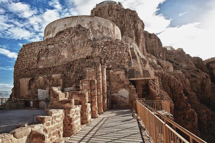 Descubra o Mar Morto e faça um tour ao Parque Nacional da UNESCO em Massada, Asdod, ISRAEL