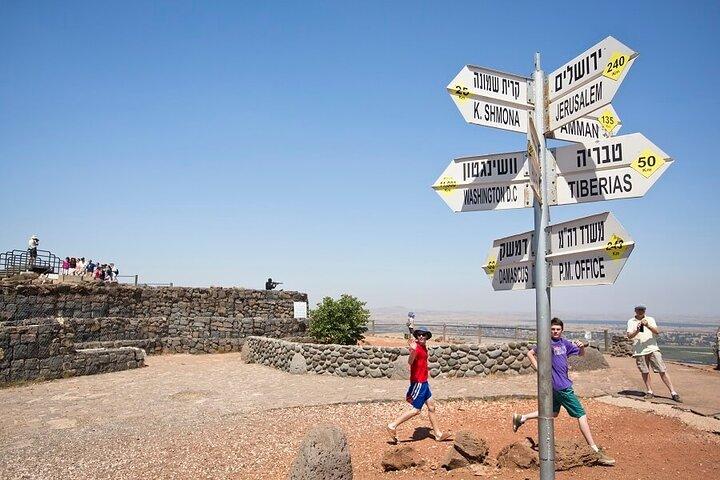 Golan Heights Day Trip from Jerusalem, Jerusalen, ISRAEL