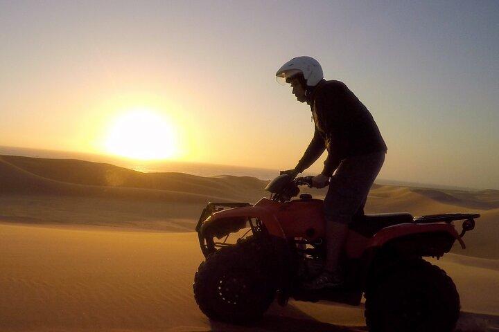 2hr COMBO - 1hr Lie-down Sandboarding and 1hr Quad Bike ride, Swakopmund, NAMIBIA
