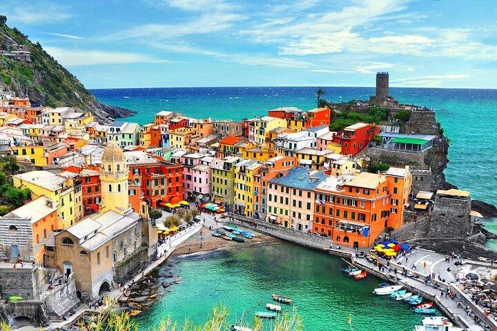 Cinque Terre tour in Small Group from Pisa, Pisa, ITALIA