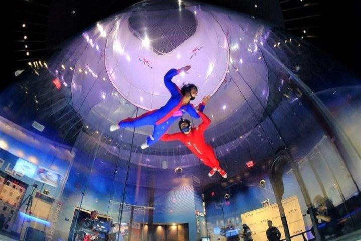 Atlanta Indoor Skydiving Experience with 2 Flights & Personalized Certificate, Atlanta, GA, ESTADOS UNIDOS