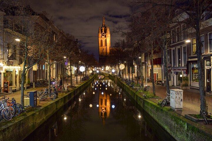 Photographic Tour in Delft Historical Center, La Haya, HOLANDA