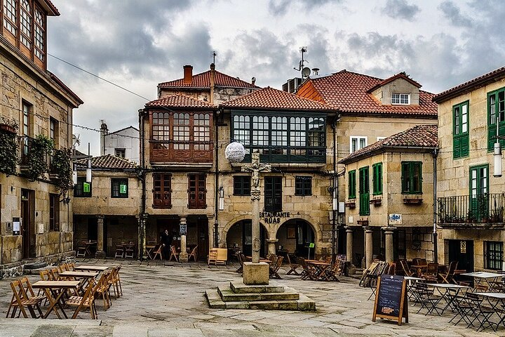 Tour a Pie por la Tarde en Pontevedra, Vigo, ESPAÑA