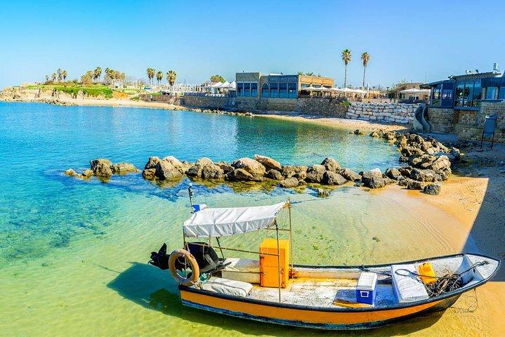 Caesarea, Haifa and Acre Private Tour from Jerusalem or Tel Aviv, Herzliya, ISRAEL
