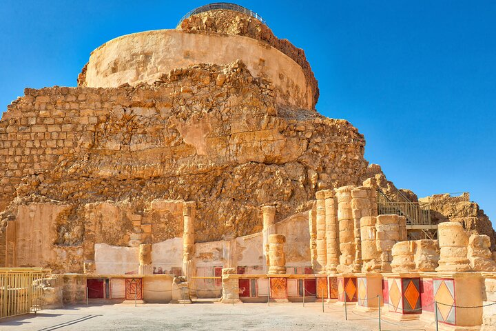 Day Tour of Masada and the Dead Sea - Small Group, Herzliya, ISRAEL