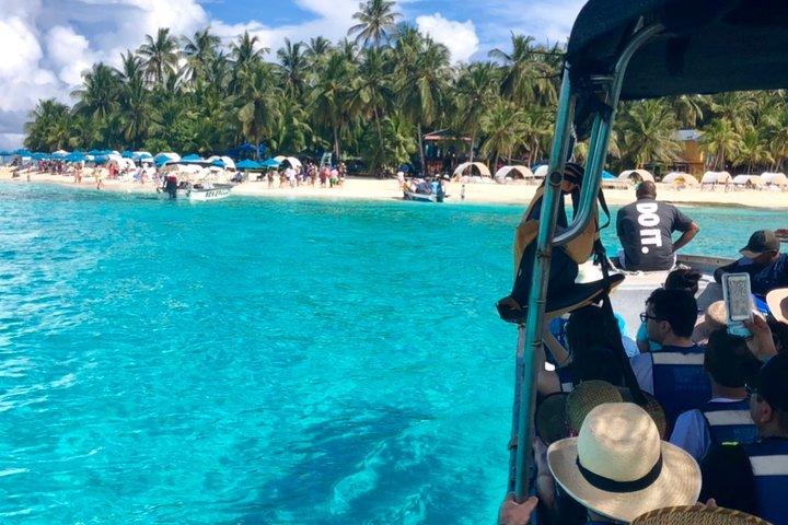 Excursion a Jhony cay, Acuario, Tour bahía, Manglares y Mantarayas., San Andres, COLOMBIA