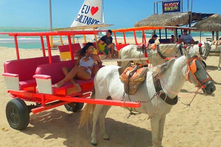 Passeio à Praia de Galinhos, Natal, BRASIL