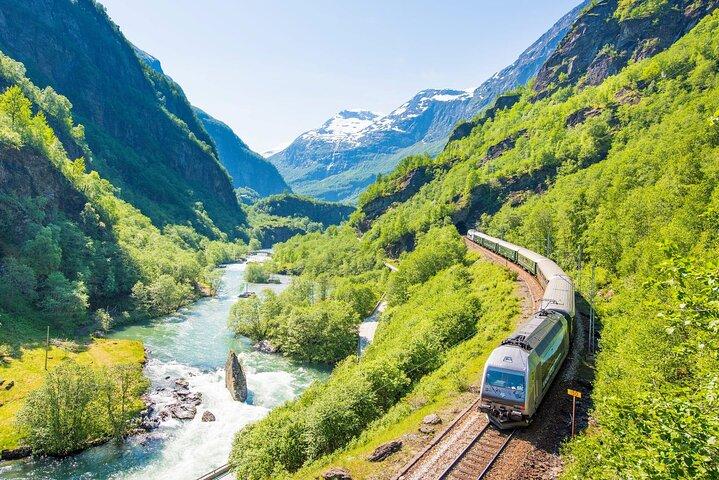 Excursão de um dia de Flåm a Bergen - incluindo Flåm Railway e Voss Gondol, Skjolden, NORUEGA