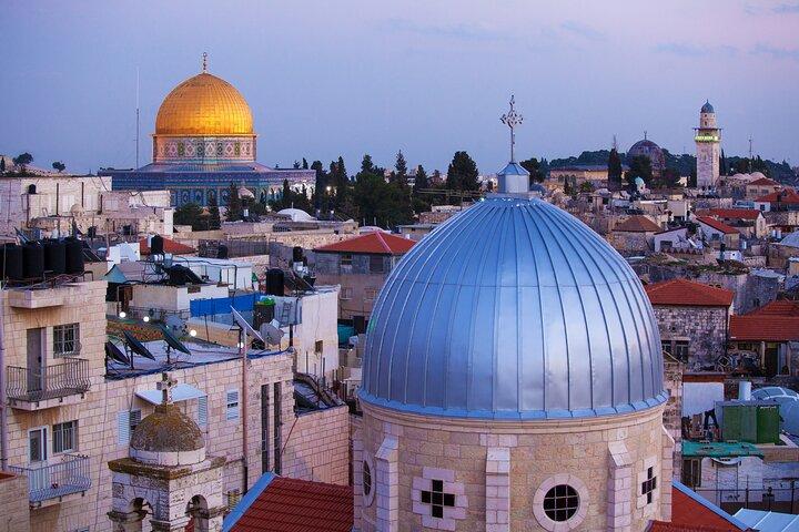 Jerusalem and Bethlehem Day Biblical Tour from Tel Aviv, Herzliya, ISRAEL