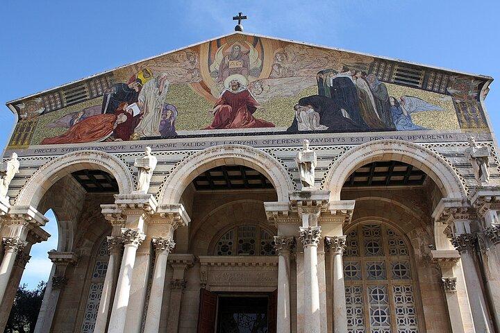 In the Footsteps of Jesus Jerusalem Biblical Trip from Tel Aviv, Herzliya, ISRAEL