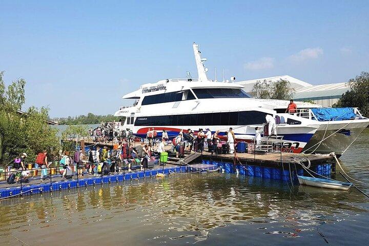 Surat Thani Tapi Pier to Koh Phangan post COVID-19 Transfer by Speedboat, Surat Thani, TAILANDIA