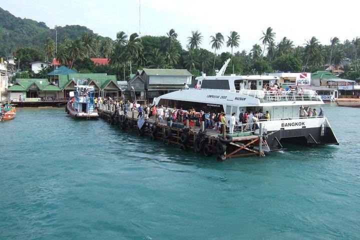 Surat Thani Tapi Pier to Koh Tao post COVID-19 Transfer by Speedboat, Surat Thani, TAILANDIA