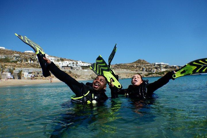 Discover Scuba Diving Adventure in Mykonos, Miconos, GRECIA