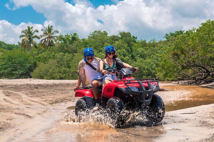 4 Hour Beach & Mountain Tamarindo ATV Adventure, Praia Flamingo, Costa Rica