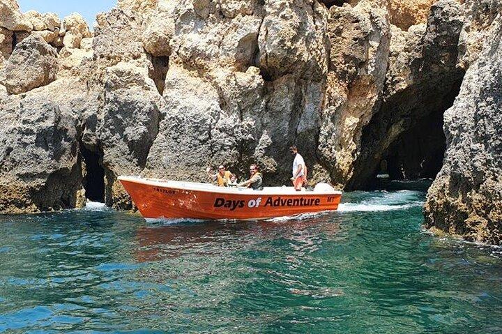 Tour to go inside the Ponta da Piedade Caves/Grottos and see the beaches - Lagos, Lagos, PORTUGAL