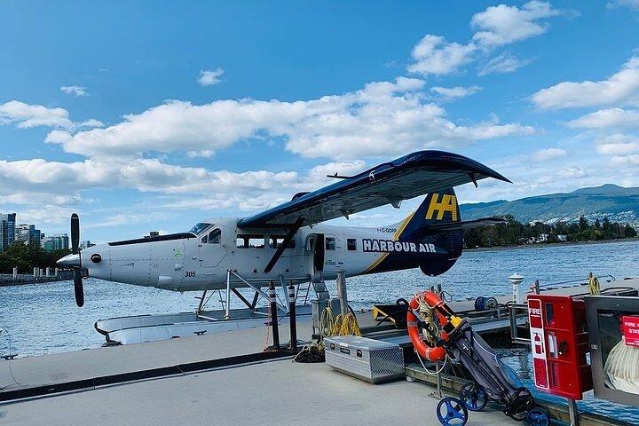 Tofino to Vancouver Seaplane Flight, Isla de Vancouver, CANADA