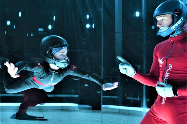 Baltimore Indoor Skydiving Experience with 2 Flights & Personalized Certificate, ,
