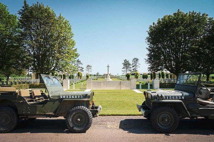 Normandy WW2 British Jeep Tour, Bayeux, França
