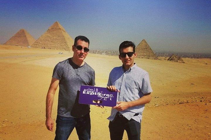 Top Rated Private Trip to Giza Pyramids,Sphinx,Camel-Ride,Lunch, El Cairo, EGIPTO