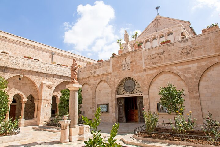 Bethlehem, Jericho & Jordan River Tour from Jerusalem, Jerusalen, ISRAEL