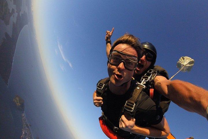 15,000ft Tandem Skydive in Bay of Plenty, Tauranga, New Zealand