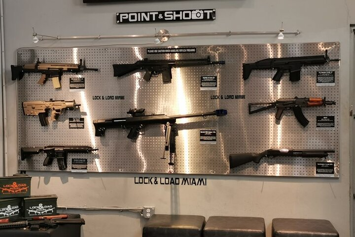 Exotic Indoor Firearm Experience in Miami, Miami, FL, UNITED STATES