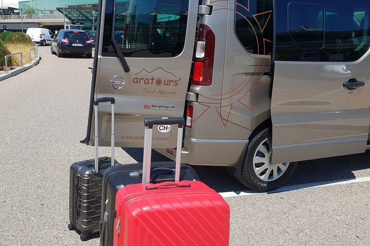 Private transfer from Crans-Montana to Geneva Airport, Crans Montana, Switzerland