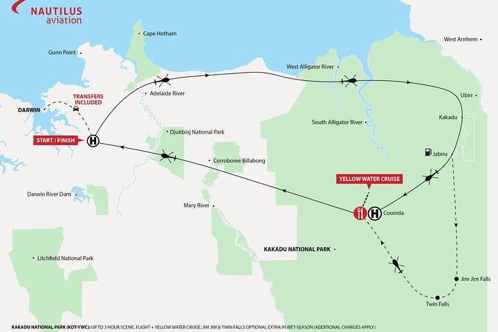 Kakadu National Park Helicopter Tour from Darwin, Darwin, AUSTRALIA