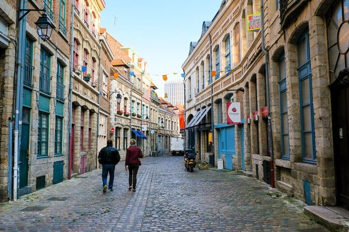 Passeio autoguiado a pé em Lille, Lille, França