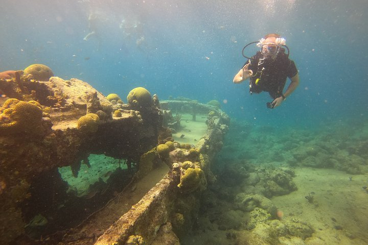 2 Tank guided shore dive, Curazao, BRASIL