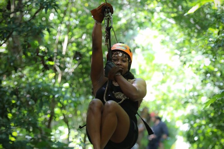 Best ATV Tour, Ziplines and Cenote Swim with Lunch and Transport Included, ,
