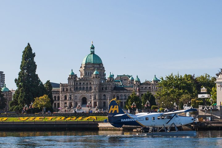 Vancouver a Victoria de Hidroavião e Balsa, Vancouver, CANADÁ