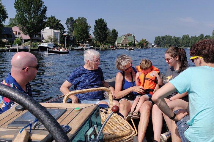 Private Boat Tour in Haarlem, Haarlem, HOLANDA