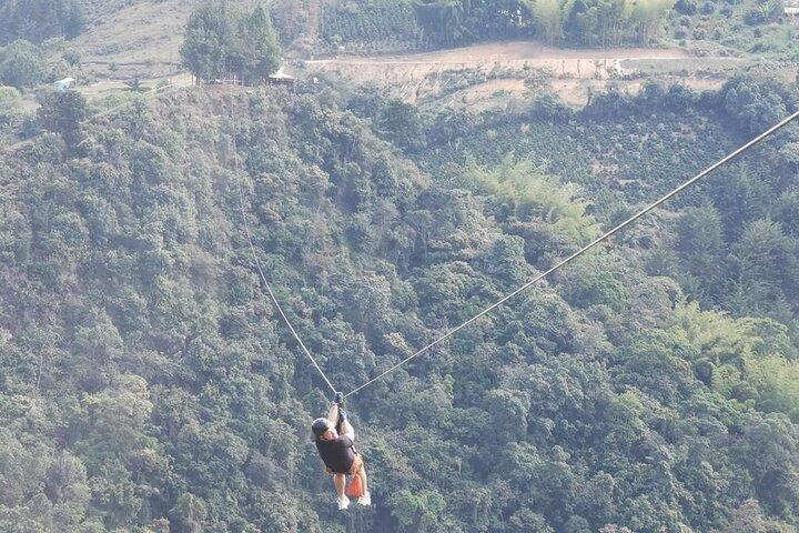 Private Zipline Activity in Medellin, Colombia, Medellin, COLOMBIA