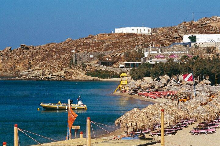 Mykonos Island South Coast Cruise with Lunch, Miconos, GRECIA