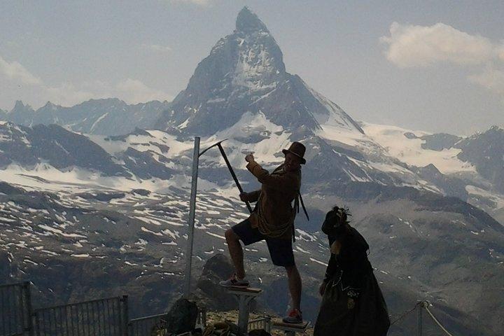 Self-Guided Tour: Zermatt Alpine Village Matterhorn Area plus Mt. Gornergrat, Lucerna, SUIZA