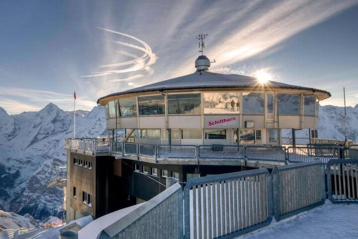 Self-Guided Tour: Schilthorn Piz Gloria (James Bond Film Location) Swiss Skyline, Lucerna, SUIZA
