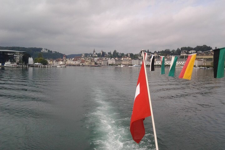 Self-Guided Tour: Mount Rigi Round Trip with Cruise on Lake Lucerne, Lucerna, SUIZA