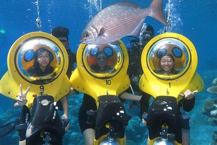Punta Cana Experience: Scuba Diving, Scooter, Panoramic Glass Boat and Snorkel, Punta de Cana, REPUBLICA DOMINICANA