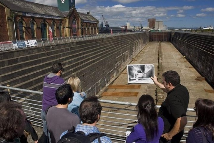 Guided Tour of Titanic's Massive Dry Dock and Pump-House, Belfast, IRLANDA